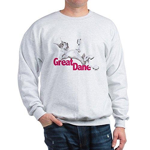 - CafePress Great Dane Mantle LB Classic Crew Neck Sweatshirt Ash Grey