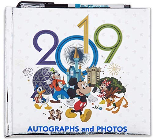 2019 Walt Disney World Autographs and Photographs Book with Pen (The Best Of Disney World)