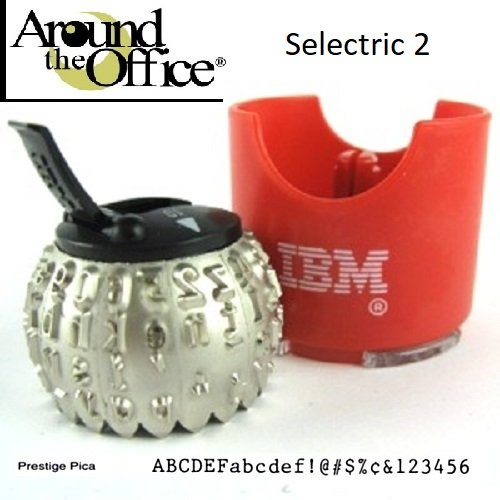 IBM Typewriter Element for IBM Selectric II Typewriter Prestige Pica 10 by Around The Office by EBS