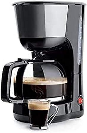 Lacor - 69278 - Cafetera De Goteo 1000w de 1,25 Litros 16 tazas - Negro: Amazon.es: Hogar