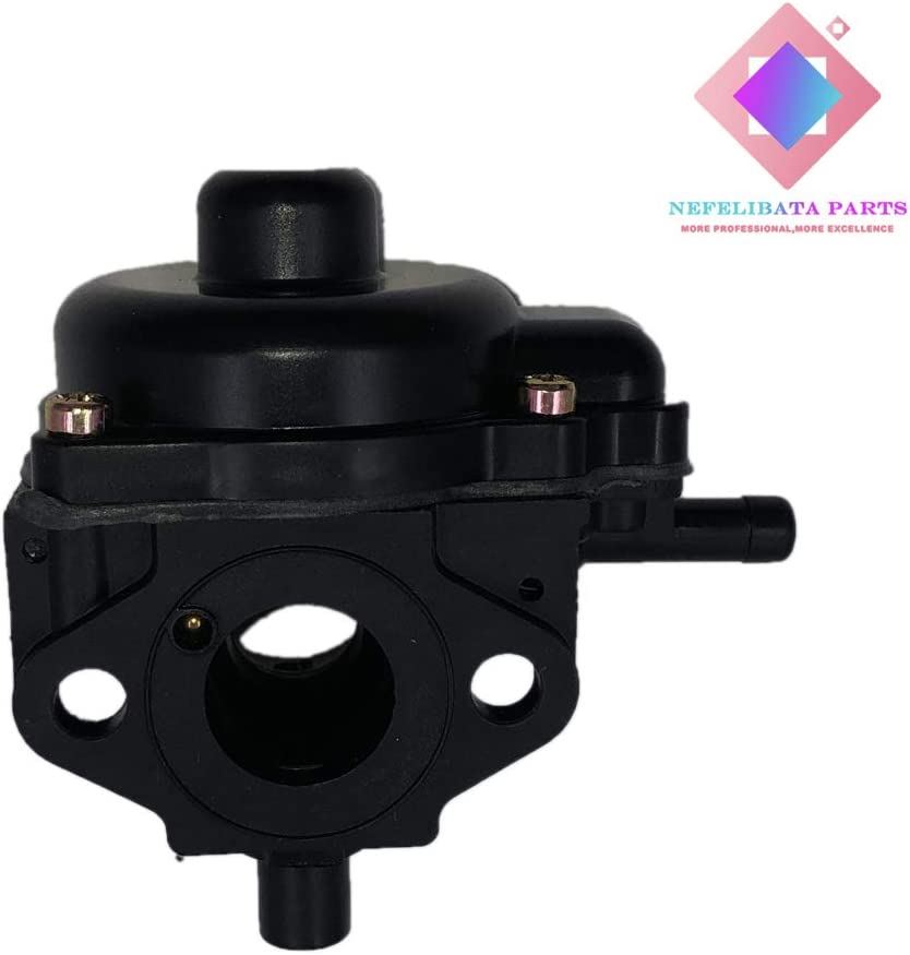 Nefelibata 801233 Carburetor with Gaskets Fits Toro Lawnboy 2 Cycle Engines CCR2400 CCR2450 CCR2500 CCR3600 CCR3650 Snowblower