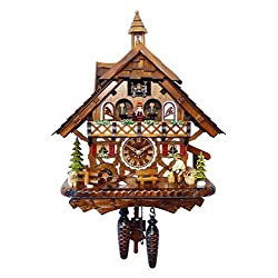 Alexander Taron Decorative Collectibles 4491QMT - Engstler Battery-operated Cuckoo Clock - Full Size
