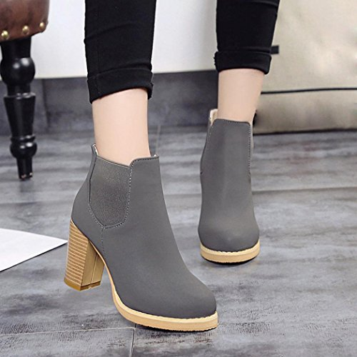 Transer ,  Mädchen Damen Unisex Erwachsene Chukka Boots Grau