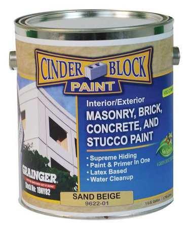 Masonry amp Stucco Paint Beige 1 gal