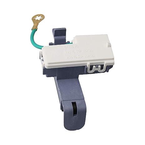 Interruptor para tapa de lavadora Whirlpool WP8318084: Amazon.es ...