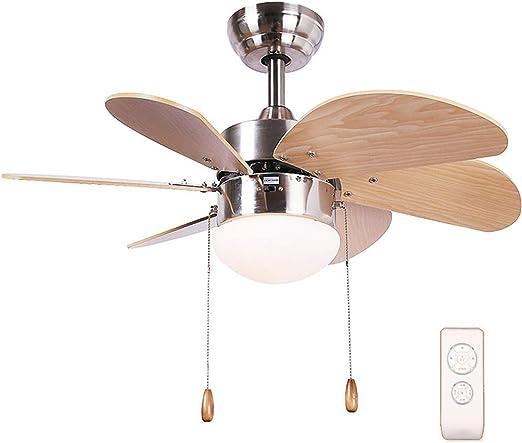 Luz del ventilador de techo, 76 cm, Comedor/habitación/Sala ...