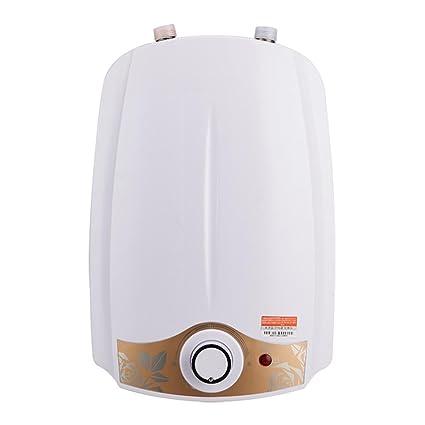 Calentador de agua de ducha eléctrico instantáneo 1.5kW Tanque de 6 litros Mini Suministro de