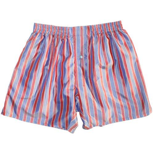 Super Stripes Silk Boxers by Royal Silk - Size XL - 37