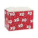 Small XOXO Basket Boxes - 6.75 x 4 x 5in. - 90 Pack