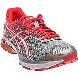 ASICS Women's Gel-Flux 4 Running Shoe, Mid Grey/White/Diva Pink, 7.5 M US