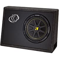 KICKER 10TC104 10 500W TC104 Loaded Car Audio Subwoofer + Sub Box Enclosure