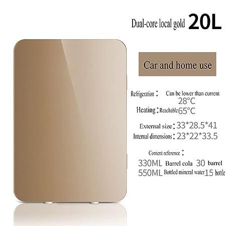 Refrigerador 20L Portátil Fría Caliente Temperatura Regulable ...