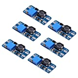 TOOGOO(R) 6pcs MT3608 DC 2A Step Up Power Booster Module 2v-24v Boost Converter for Arduino