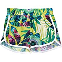 ISPED Girls Shorts Kids Girl Shorts Girls Short Pants Soft Colorful Pattern Fruit Rose Flower Toddler Girls Summer Short YM25