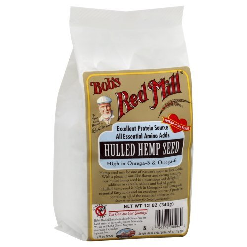Bob'S Red Mill Hemp Seed Hulled 12 Oz (Pack of 4) - Pack Of 4