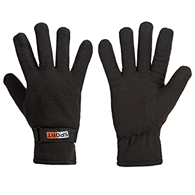 Winter Gloves ,IEKA Keep Warm Polar Fleece Gloves,for Men & Women,Windproof,Resistant,Suitable for Hiking,Running,Mountaineering,and Other Winter Outdoor Sports