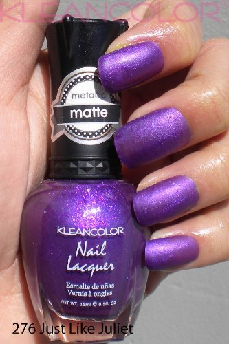 Kleancolor Metallic Matte Nail Polish 276 Just Like Juliet