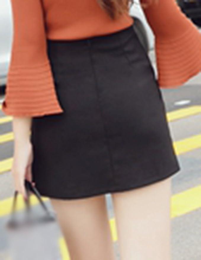 Ladies Mini Pleated Skirt Stretch High Waist Plain Short Skirt Black M:  Amazon.co.uk: Clothing