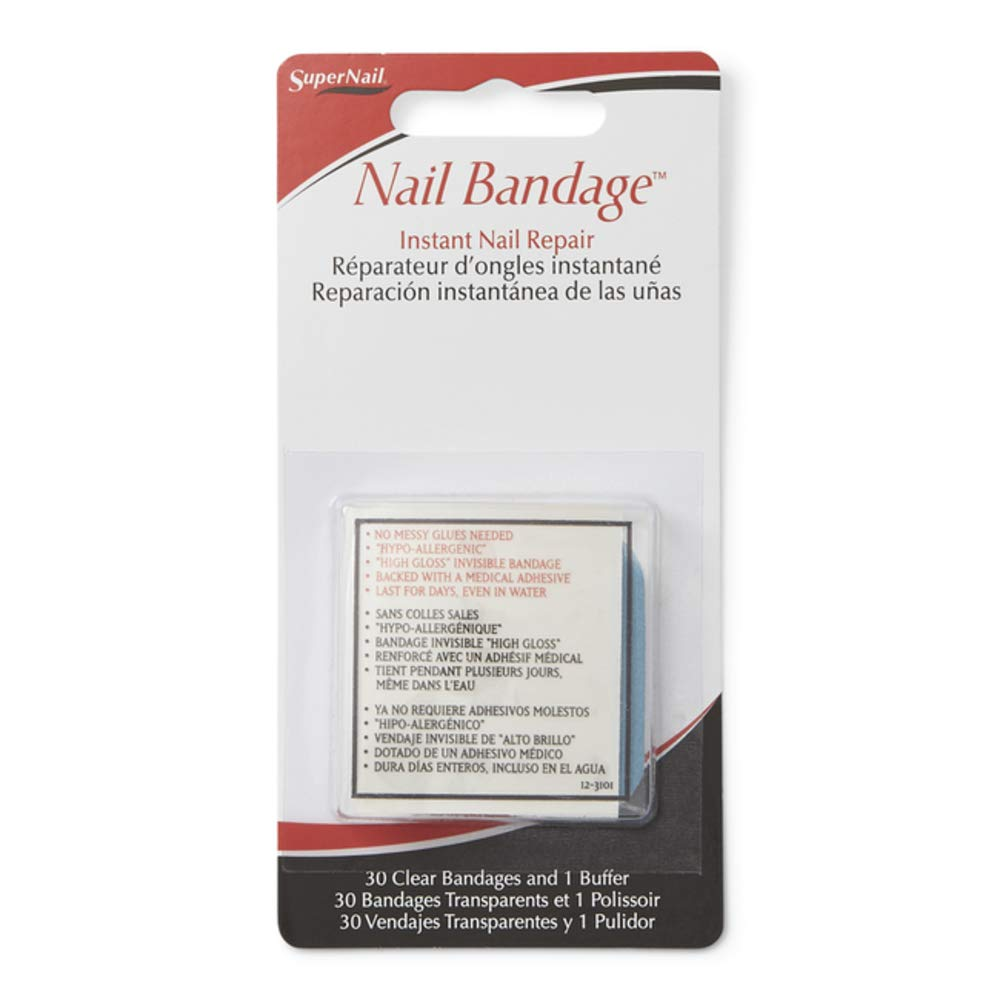 super nail Nail Bandage Instant Nail Repair : False Nails : Beauty