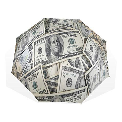 More Money Compact Travel Umbrella Rain Anti-UV Protection Sun Umbrellas