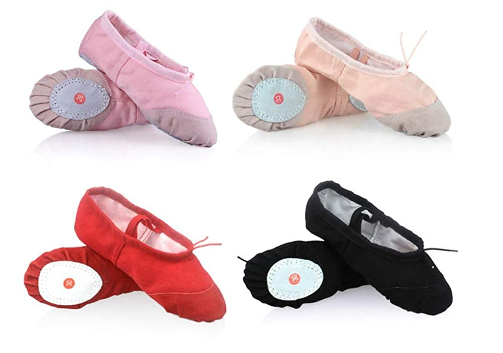 satisfied Ballet Dance Shoes for Girls Yoga Slipper Flat Physical Shoe
