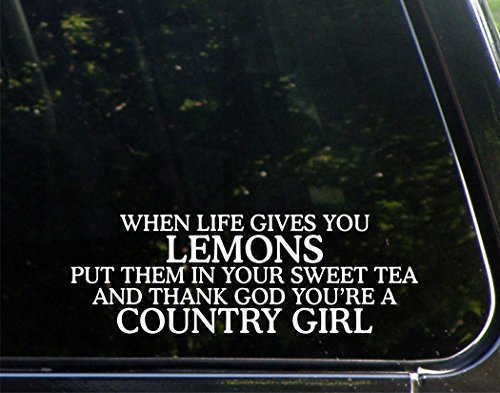 When Life Gives You Lemons Put It In Your Sweet Tea And Thank God You're A Country Girl - 9