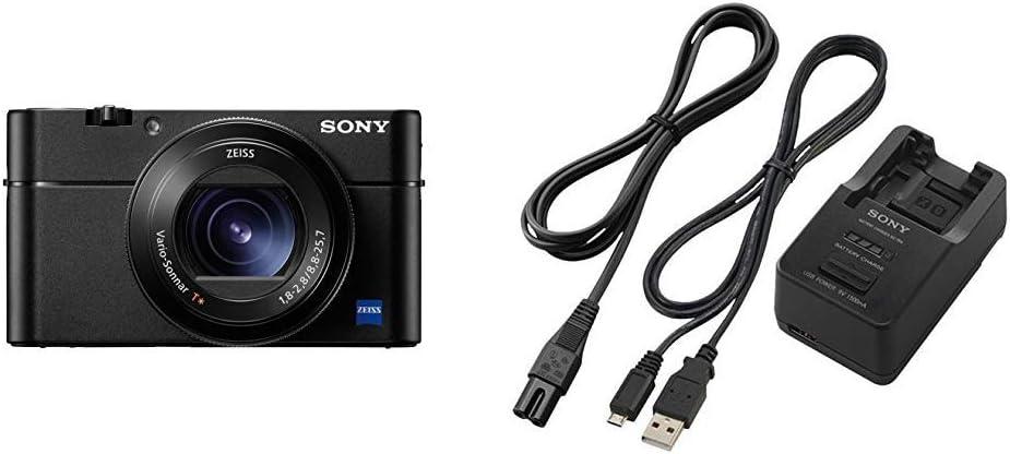 Sony Rx100 V Premium Kompakt Digitalkamera Schwarz Kamera
