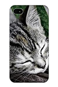 Crooningrose New Arrival Iphone 4/4s Case Animal Cat Case Cover/ Perfect Design