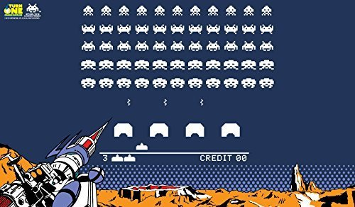 Space Invaders Retro Gaming Playmat