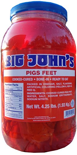 Big John's Pickled Pigs Feet
