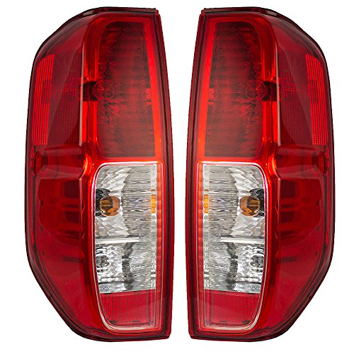 Driver and Passenger Taillights Quarter Panel Mounted Replacement for Nissan Suzuki Pickup Truck 26555EA825 26550EA825