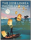 Linnea Design 2018 Poster Calendar Art By Johanna Riley