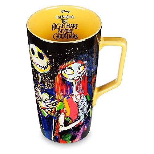 Disney Tim Burton's Jack Skellington and Sally 'Nightmare Before Christmas' Latte Mug -