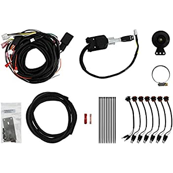 superatv turn signal kit for polaris ranger fullsize 570/900 / 1000 with  steering column switch and attached horn - plug and play for easy  installation!