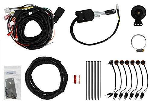 SuperATV Turn Signal Kit for Polaris Ranger XP 900 (2013+) With Steering Column Switch and Attached Horn - Plug and Play For Easy - Rear Stay Turn Signal