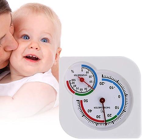 Wg Hogar Termómetro Para Habitaciones De Marcación Humedad Y Sensor De Temperatura útil Guardería Habitación Para La Casa Del Bebé Termómetro Para Interiores Humedad Mx Hogar Y Cocina