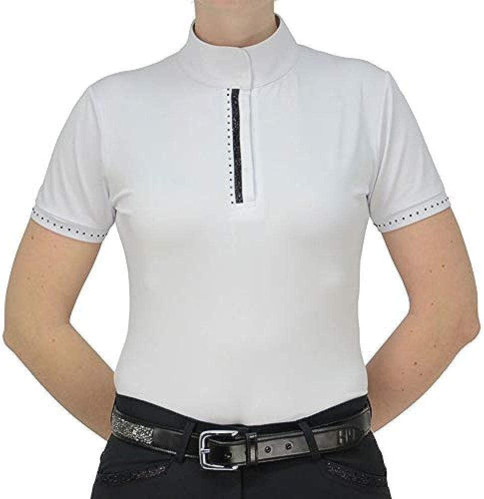 HyFASHION - Camisa Roka de competición de hípica para Mujer señora