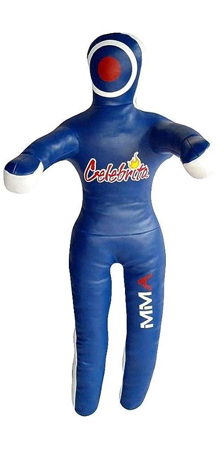 Amazon.com: Celebrita Italia piel MMA Grappling dummy Bolsa ...