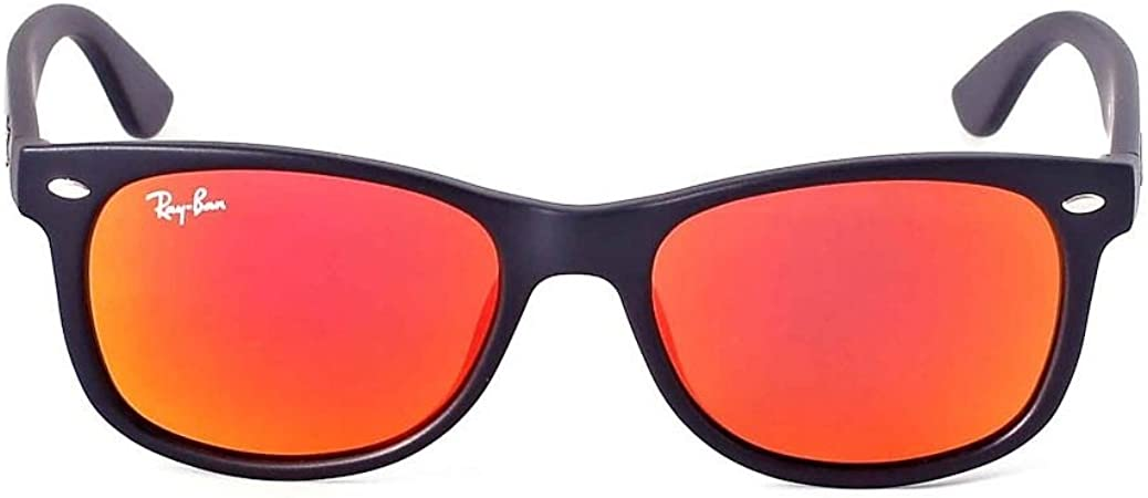 ray ban wayfarer blue mirror lens