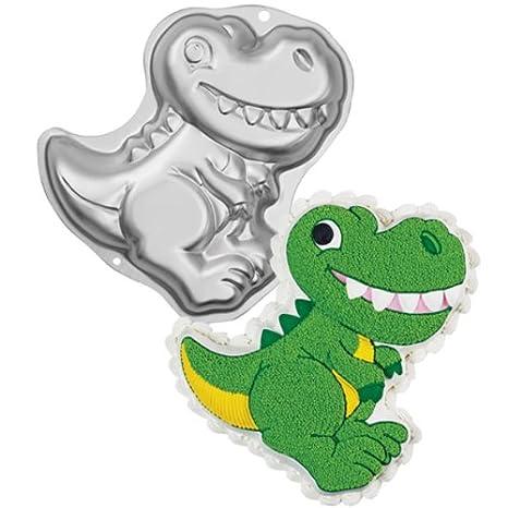 Wilton Dinosaur Metal Cake Tin