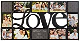 Gallery Solutions 16FM1489 black Love Collage Frame