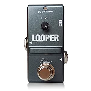 rowin tiny looper electric guitar effect pedal 10 minutes of looping unlimited. Black Bedroom Furniture Sets. Home Design Ideas