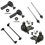 Pontiac Vibe Ball Joints & Components - 8 Piece Kit Inner Outer Tie Rod Sway Bar Link Ball Joint LH RH for Vibe Matrix