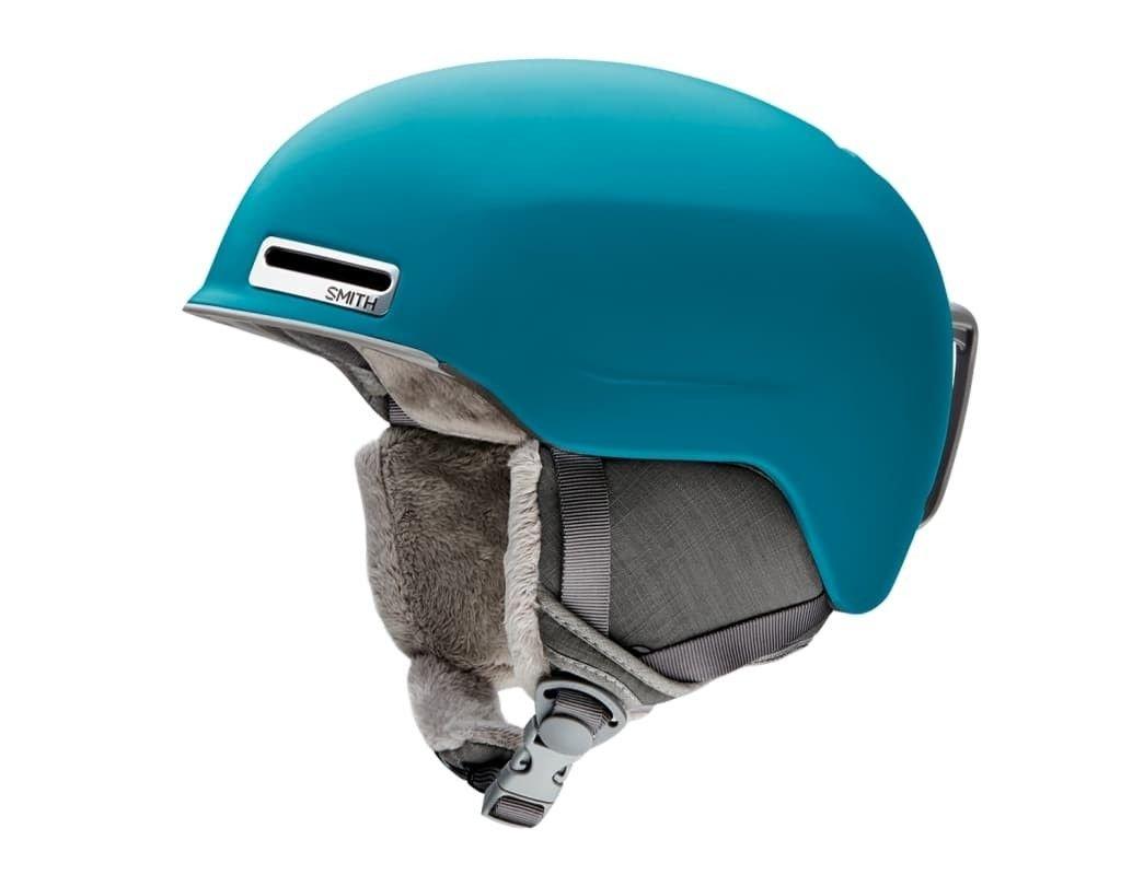 Smith Optics Adult Allure Ski Snowmobile Helmet - Matte Mineral/Small
