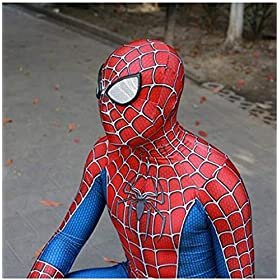 - 51h9MsamqDL - Unisex Lycra Spandex Zentai Halloween Cosplay Costumes for Audlt/Kids:Homecoming
