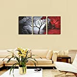 Wieco Art The Cloud Tree Wall Art Oil PaintingS