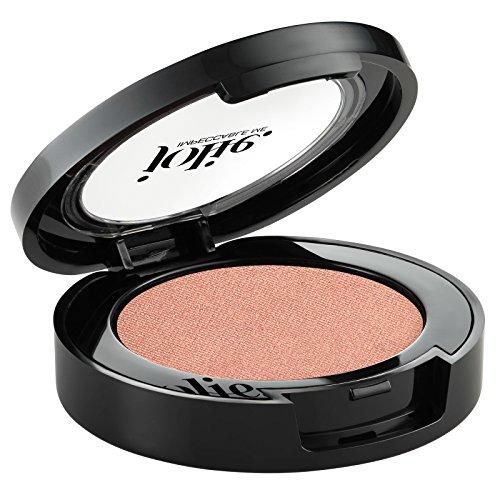 - Jolie Pressed Mineral Eyeshadow - Soft Shimmer Finish 2G (Peach Topaz)