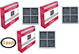 LG LT120F ADQ73214404 ADQ73334008 KENMORE 46-9918 Comparable Coral Refrigerator Air Filter (3)