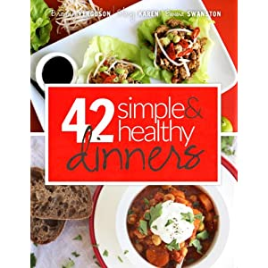 42 Simple & Healthy Dinners (42 Days to Fit Book 2) 51h9NcFpwTL