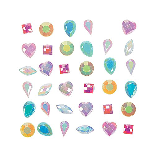 (Fun Express - Pastel Princess Mix Jewels for Spring - Craft Supplies - Bulk Craft Accessories - Jewels - Spring - 200)